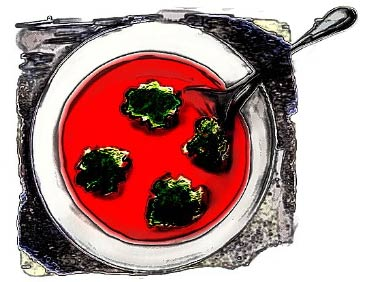tomato soup artwork